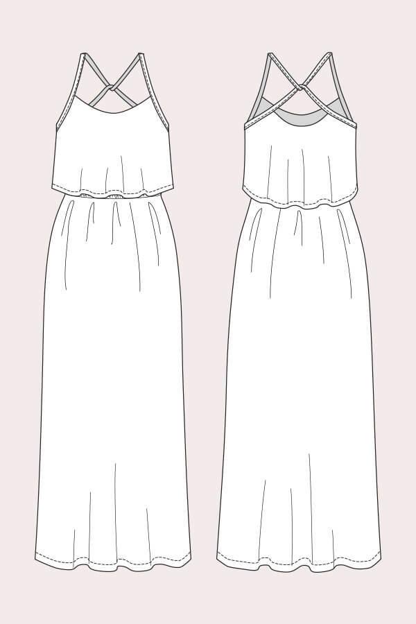 DIY: Helppo kesämekko / DIY: Easy summer dress