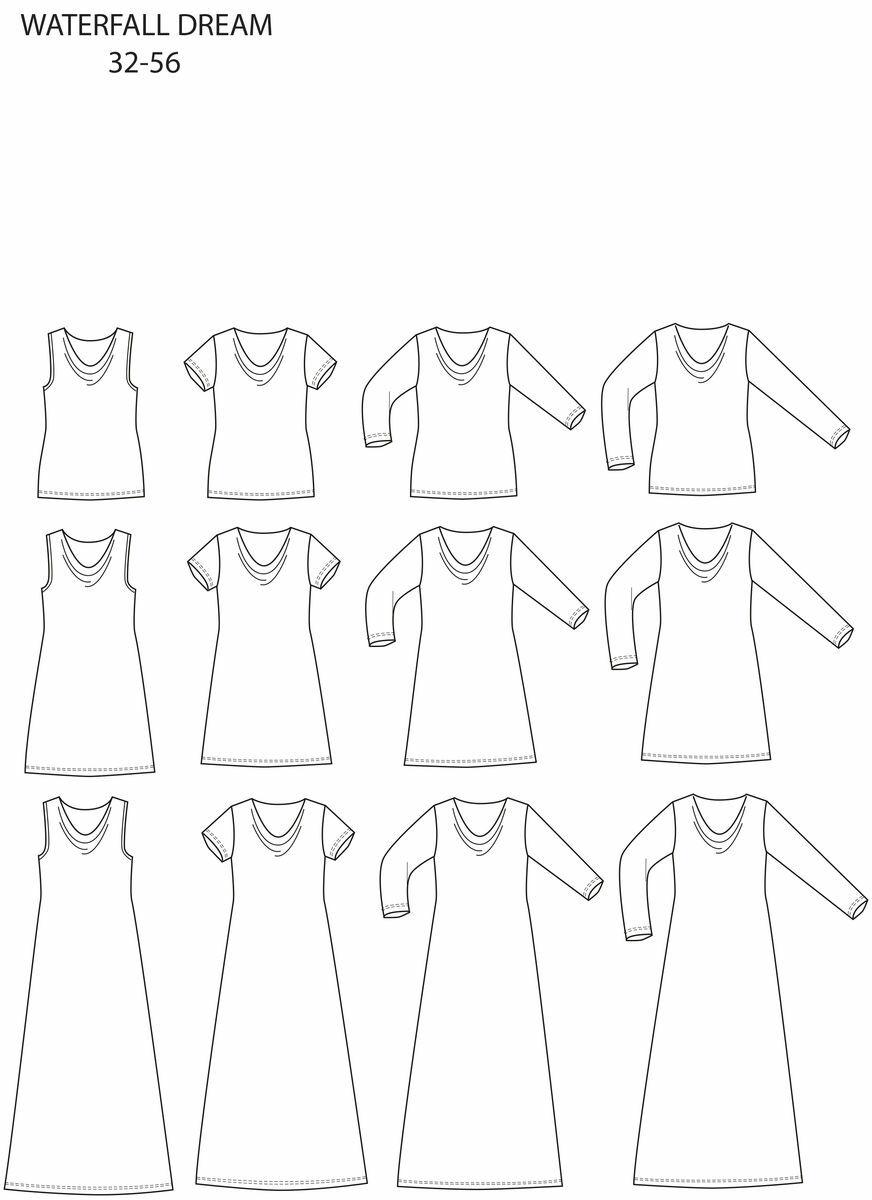 Ompele omat vaatteesi - Kaavan löytäminen ja piirtäminen sekä kankaan leikkaaminen