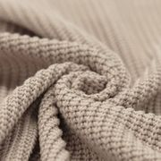 Big Knit - puuvillaneuloskangas: Beige