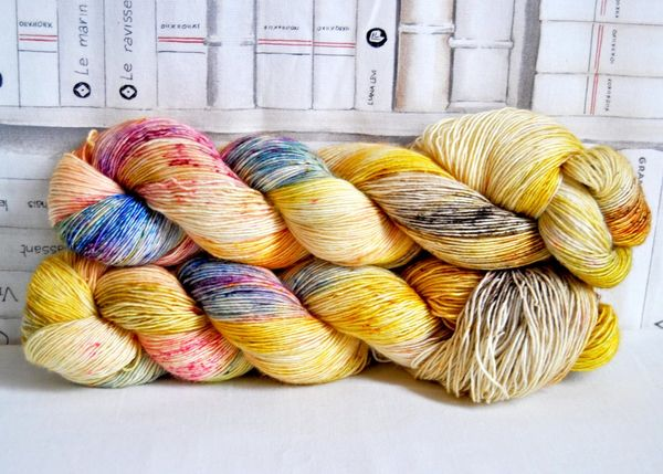 Artemisyarns: Merinovillalanka 100%, Golden Fleece 100g